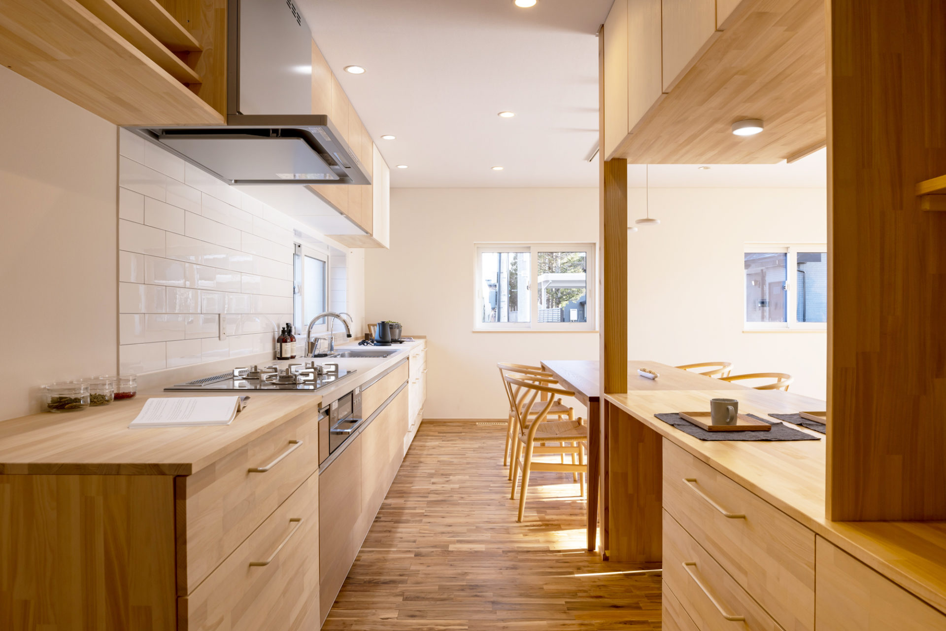 2.造作キッチンは使いやすく美しい